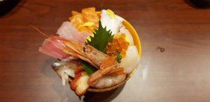 海鮮丼,シーロムタニヤ通り,安くて美味しい,おすすめ,日本食居酒屋,クルーズレストラン